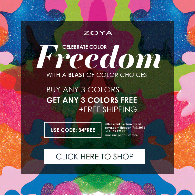 Zoya Color Freedom Landing page image